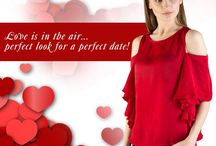 Valentine Special Dresses for Girls / Buy Valentine special dresses for girls from Tryfa.com. You can buy latest dresses  for girls, buy new red  top and dresses online at lowest price.