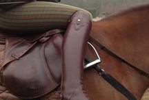 Equestrian Leather / Nothing quite like a clean saddle! Have a look at some of the equestrian products the Pellé Care treatment can revitalise! http://bit.ly/1BBWvk9
