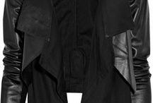 WARDROBE - BLACK LEATHER JACKET