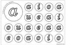 letras en cursiva