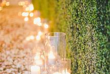 WED: candles & lights