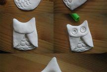clay / fimo / ton