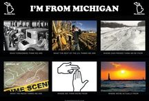 Living in the Mitten ✋ / by Gina Hall