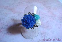 Anillos flores Col. Bague Fleurs / Flores para nuestros dedos con un toque retro. Cuál es tu color?