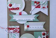 ¡Feliz navidad! / Aunque pensamos que todavia falta micho, si quieres tener una navidad craft y perdonal ya tenemos que empezar. Espero que te gusten mis ideas