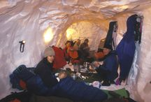 Snow Hole Expedition Cairngorms / Every year Scot Mountain Holidays runs winter expeditions in Scotland. The Cairngorms are ideal for this, being the largest national park in the UK with attractive winter sport offerings.