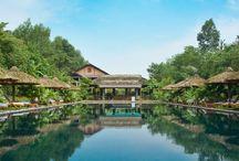 Luxe reizen / De mooiste boutique & designhotels, gelegen op de mooiste plekjes en samengevoegd tot de perfecte reis! Bij ons betekent dat geen grote 5-sterren resorts met honderden kamers, maar juist een luxe villa met eigen zwembad in Ubud op Bali, een verblijf in een koloniaal herenhuis in de theevelden Nuwara Eliya in Sri Lanka, een watervilla op de Malediven of een luxe resort op een privé-eiland in Maleisië. De mogelijkheden zijn eindeloos!