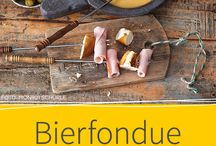 Fondue / Hier findet ihr die besten Rezepte für Käsefondue und Fondue mit Brühe und Fett. Von festlich und leicht bis edel und exotisch ist alles dabei. Natürlich haben wir auch Rezepte für Dips und Beilagen für euch.