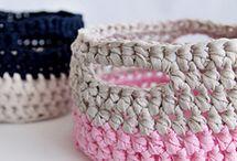 T-shirt yarn crochet