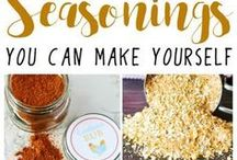 Healthy Dressings and sides