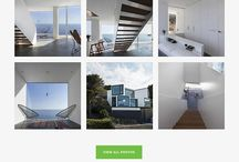 Real Estate Website Design / Inspiration for upcoming real estate web design project.