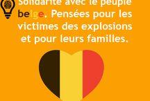 Pray For Bruxelles ♥ ✞ / 22 mars 2016...attentats :(