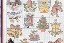 cross stitch binder