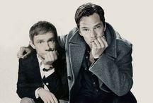 Benedict Chumberbatch & Martin Freeman