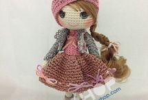 crocheted toys and amigurumi / by Margaret Batey