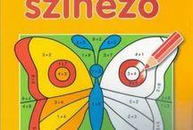 Matematikai színezők