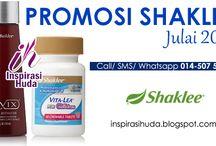 Promosi Shaklee Julai 2016