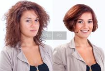 """Bob na fali / Kręcone włosy dają możliwość różnych kreacji, a zdecydowane cięcie """"na boba"""" odświeży każdą fryzurę. Włosy sięgające do ramion skracamy do szyi i w ten sposób zyskujemy objętość przy linii twarzy. Postaw na oryginalność i pozostaw włosy skręcone w spirale lub rozczesz i ułóż boba w stylu glamour.  Kategoria: Strzyżenie damskie Technika: Bob z przeniesieniem objętości na włosach kręconych Edukator: Beata Berendowicz"""