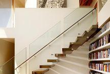 Under stairs / Bookcase
