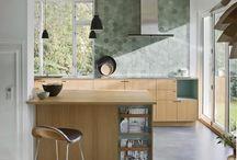 Taffelbays Allé / Minimalistic carpenter kitchen designed by Else-Rikke Bruun for a villa in Hellerup, Copenhagen // Minimalistisk Snedkerkøkken tegnet af Else-Rikke Bruun for NicolajBo™