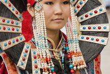 mongolian dress/people