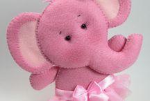 Elefantinha Rosa