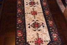 Patchwork Tablerunner,Tablecloth