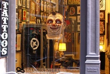 THE SHOP / Aloha Tattoos Barcelona is in the old town of Barcelona city. Located at: Passatge del Crédit nº8 08002 Come and visit us in this unique space!