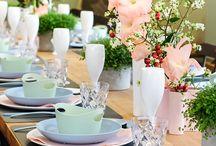 »Gedeckter Tisch