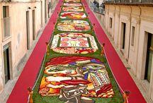 The Infiorata di Noto, Sicily / Flower Festival in Sicily