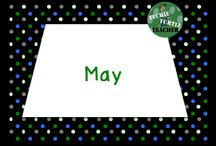 May Resources / May Teaching Ideas for the classroom