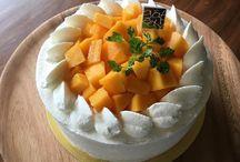 お祝いケーキ& ご飯たち⸝⸝⸝⸝◟̆◞̆♡