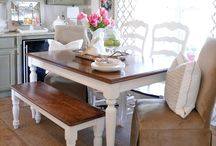 Homey dining rooms
