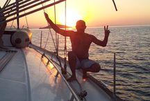 De Bodrum a Fethiye (Turquía) navegando a vela.