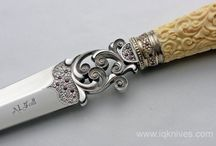 beautiful knives