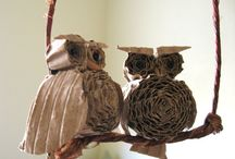 Owl Crafts For Kids / Cute Owl Craft projects for kids.