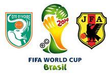 Costa de Marfil 2-1 Japón // Ivory Coast 2-1 Japan / Costa de Marfil tiene pimienta (2-1) Los Elefantes lograron recuperarse tras un inicio fallido y lograron llevarse los tres puntos en su debut en el Grupo C de la Copa Mundial de la FIFA Brasil 2014™.