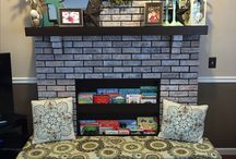 Fireplaces ideas baby proof