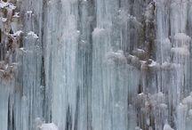 cascade de stalactites