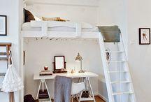 work spaces high ceilings