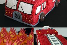 Birthday party ideas / Emergency vehicles