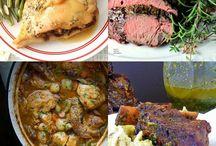 Food: Christmas feast