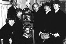 Richard Lester рядом с ''The Beatles''