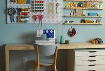 Craft room and study