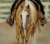 Horses In Art- Western Competions