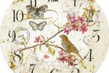 Decoupage clocks