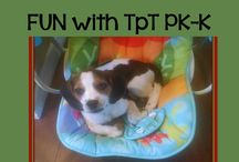 PK-K {FUN With TpT!} / This is a collaborative board for FUN TpT ideas/products that will help teachers, parents, homeschoolers, daycare, etc. No rules except if you repin, please scroll down and delete the old pin to keep the board fresh. DUPLICATE PINS WILL BE DELETED!!!!!  And remember...pins should be FUN (which probably means no worksheets)!  If you would like to be invited, please email me at spaul0411@yahoo.com.