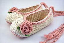 Crochet-Baby Shoes / Crochet / by wafaa ali