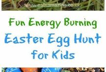 Easter weekend & easter egg hunt ideas