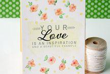 St.Valentine days card